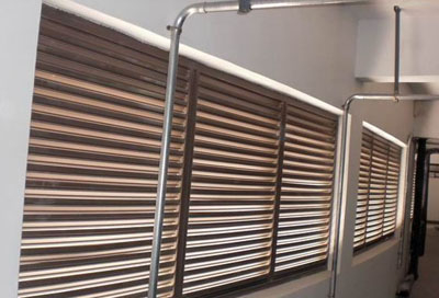 铝合金百叶窗安装